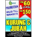Promotion Kurung & Jubah