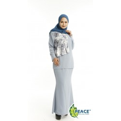 Fashion Plus Size Baju Kurung Wear 1519005