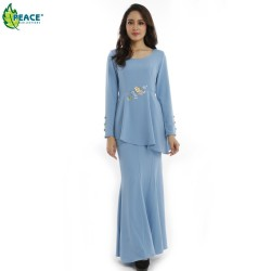 Fashion Modern Baju Kurung Wear 1018010
