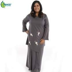 Fashion Plus Size Baju Kurung Wear 1058016