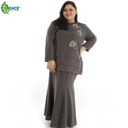 Fashion Plus Size Baju Kurung Wear 1058020