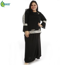 Fashion Plus Size Baju Kurung Wear 1058023