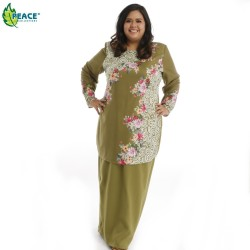 Fashion Plus Size Baju Kurung Wear 1598847