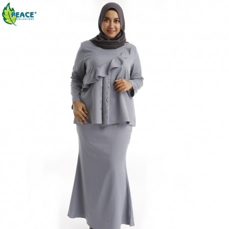 Fashion Plus Size Baju Kurung Wear 1518035