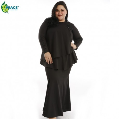 Fashion Plus Size Baju Kurung Wear 1598878